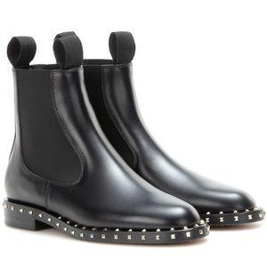 VALENTINO Rockstud embellished chelsea boots